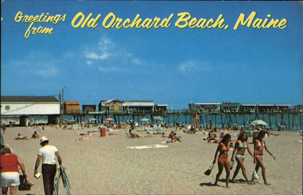 Greetings from Old Orchard Beach Maine Gary Sweet