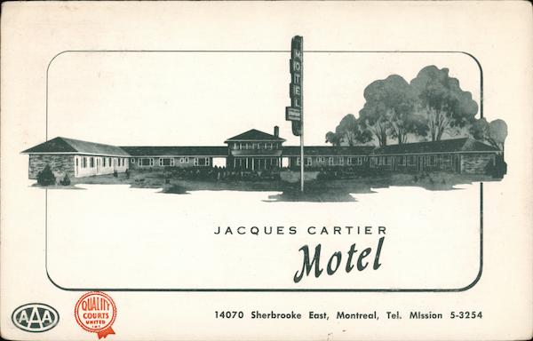 Jacques Cartier Motel Montreal Canada Quebec