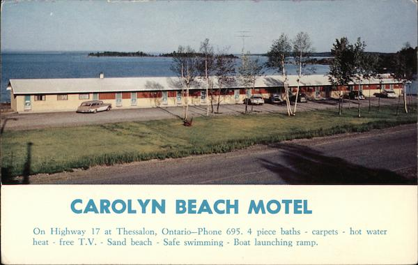 Carolyn Beach Motel Thesssalon Canada Ontario