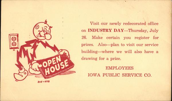 Reddy Kilowatt Industry Day - Iowa Public Service Co.