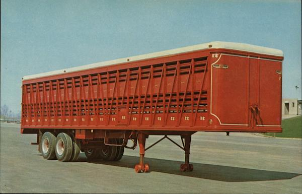 Livestock Trailer Cedar Rapids Iowa Advertising
