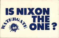 Is Nixon the One? Watergate