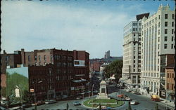 View of Monument Square