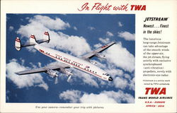 In Flight with TWA