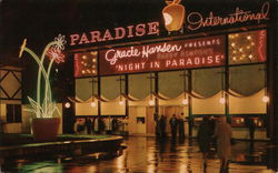 Show Street - Paradise International Postcard