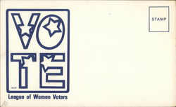 VOTE - League of Women Voters