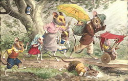 Mice In the Rain