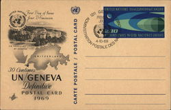 United Nations Geneva First Day of Issue April 10, 1969