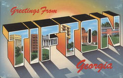 Greetings from Tifton Postcard