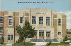 Auditorium at Muscatine High School