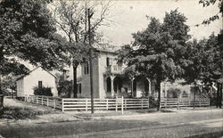 Birthplace of James Whitcomb Riley - The Hoosier Poet Postcard