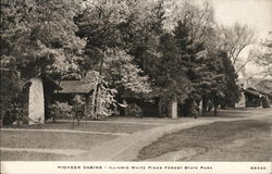 Pioneer Cabins - Illinois White Pines Forest State Park