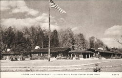 Lodge and Restaurant, White Pines Forest State Park