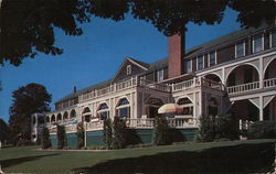 Belvedere Club - Club House Postcard