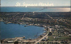 The Harbor and Mackinac Bridge
