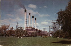 Saginaw River Steam Electric Plant of Consumers Power Company