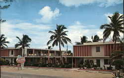The Islander Apartment Motel Postcard
