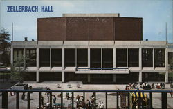 Zellerbach Hall, University of California