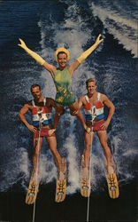 "The Thrilling ""Adagio"" Waterski Show at Cypress Gardens"