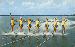 The Aquamaids Performing Their Water Ski Ballet