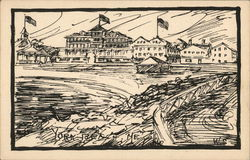Drawing of York Beach
