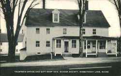 Trustee's Office and Gift Shop 1816, Shaker Society
