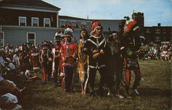 Snake Dance, as Done by the Passamaquoddy Indians at Pleasant Point