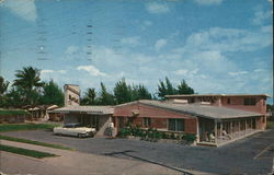 Brumbaugh Motel, Apartments, Cabins, Trailer Park Postcard