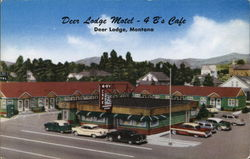 Deer Lodge Motel - 4 B's Cafe