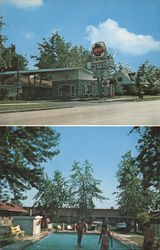 Forecourt and Pool, Henwood's Motel, Inc.