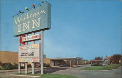 Waukegan Inn Postcard