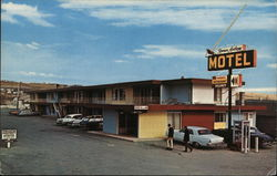 Roman Anthony Motel Postcard