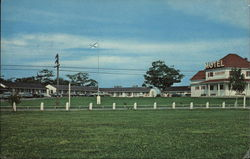 Tideview Motel Postcard