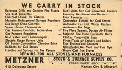 Metzner Stove & Furnace Supply Co.