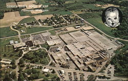 Aerial View of Gerber Baby Food Plant