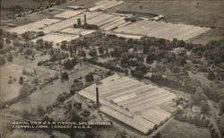 Aerial View of A.N. Pierson Greenhouses