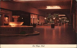 Six Flags Mall Postcard