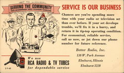 Better Radio, Inc. Postcard