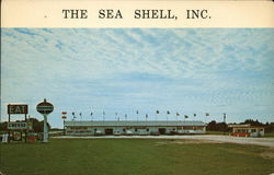 The Sea Shell, Inc. Postcard