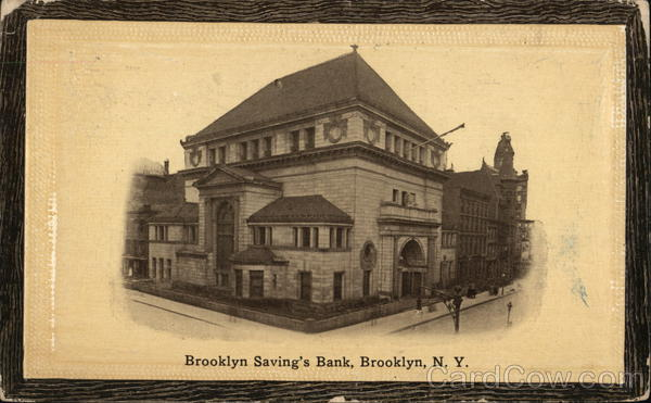 Brooklyn Saving's Bank New York