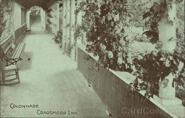 Colonnade, Cragsmoor Inn New York