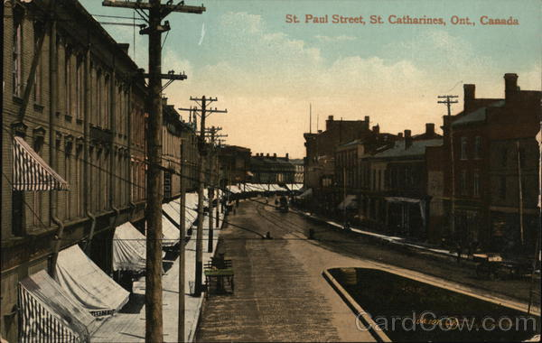 St. Paul Street St. Catharines Canada Ontario