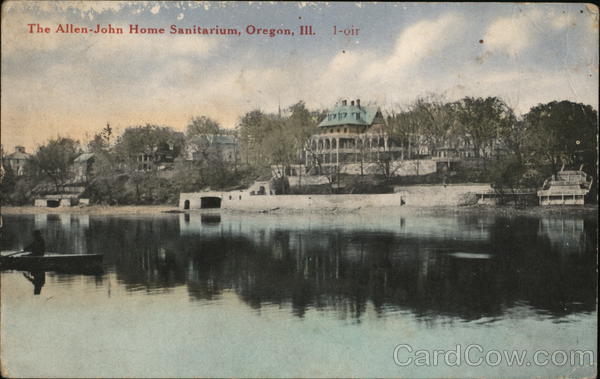 The Allen-John Home Sanitorium Oregon Illinois