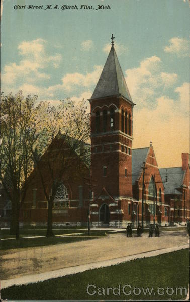 Court Street M.E. Church Flint Michigan