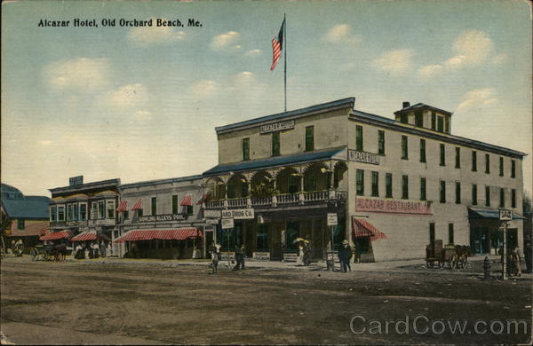 Alcazar Hotel Old Orchard Beach Maine