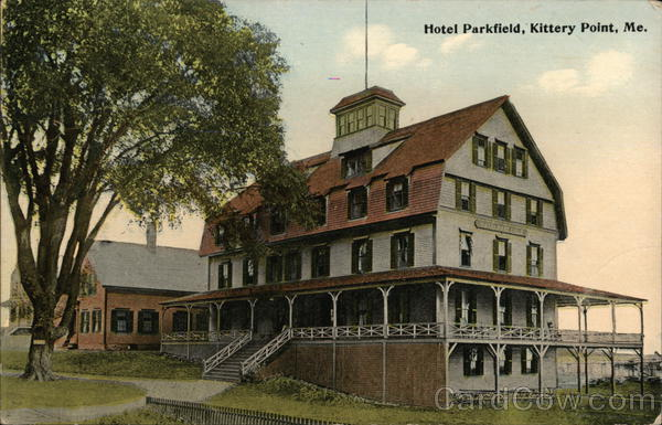 View of Hotel Parkfield
