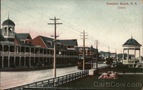 View of Casino Hampton Beach New Hampshire
