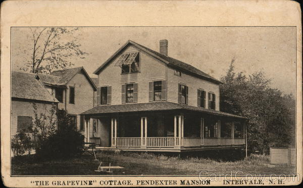 The Grapevine Cottage, Pendexter Mansion Intervale New Hampshire