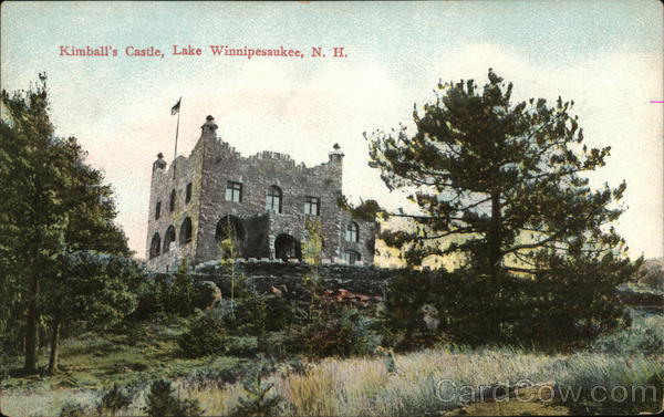 Kimball's Castle Lake Winnipesaukee New Hampshire