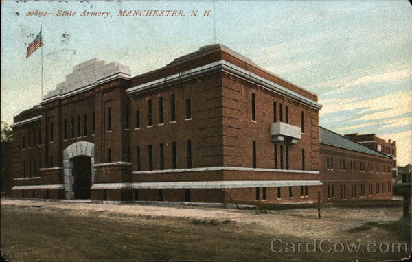 State Armory Building Manchester New Hampshire
